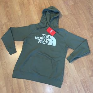 NWT The North Face Half Dome Hoodie - Green, S